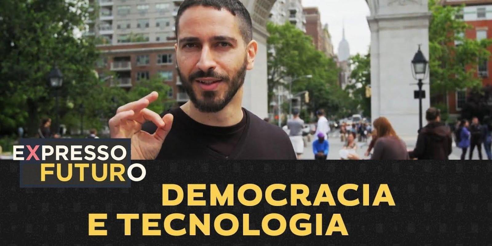 Democracia E Tecnologia   Expresso Futuro Com Ronaldo Lemos