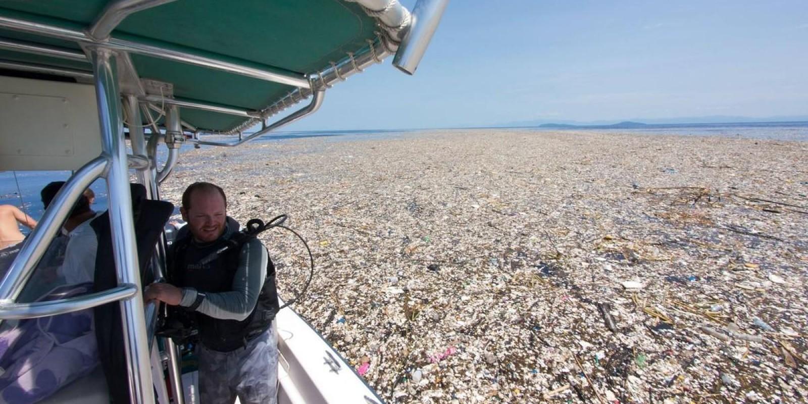 As Imagens Que Mostram O Gigantesco Mar De Lixo No Caribe