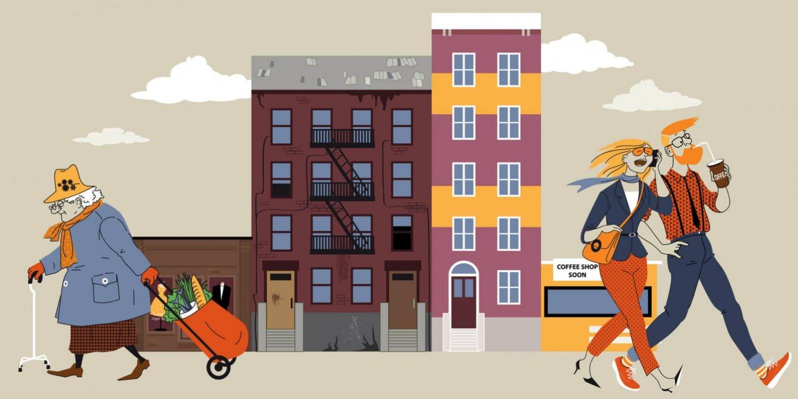 Como a gentrificação dita o tom da desigualdade nos EUA?