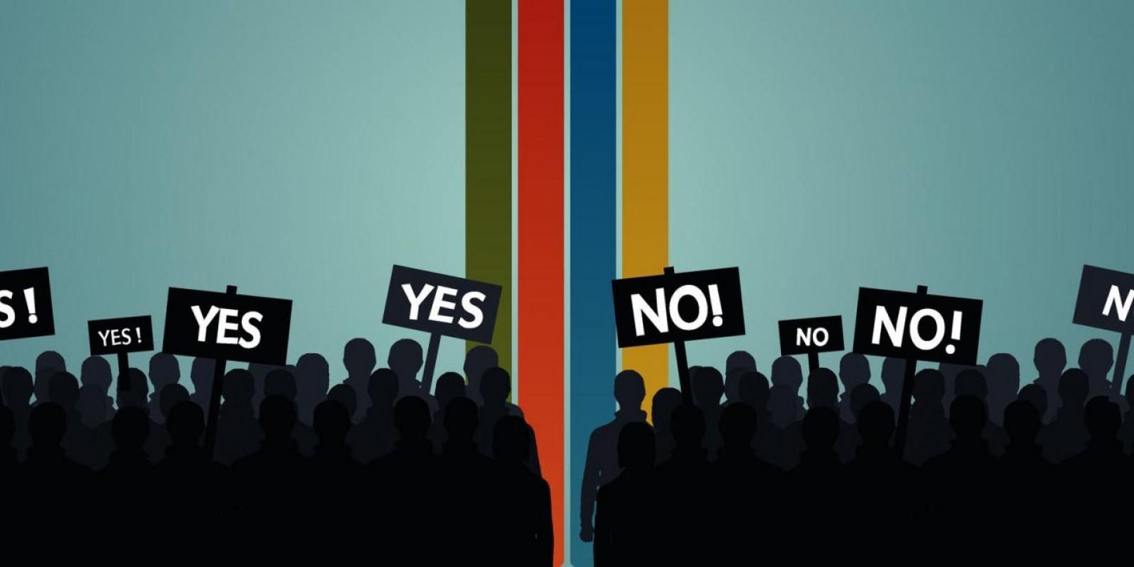 Polarização Política: Reflexo De Uma Sociedade Murada