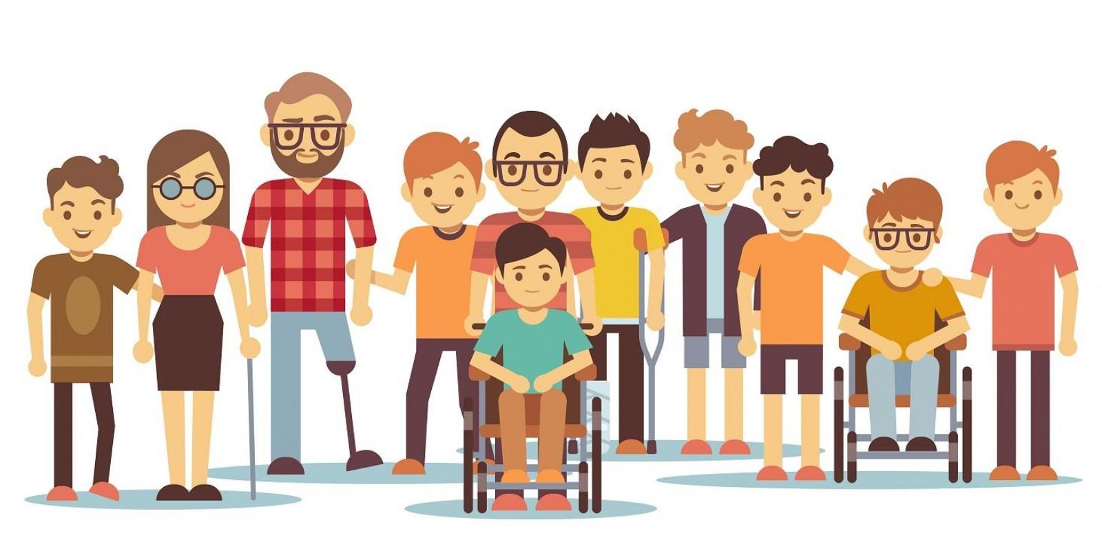 A inclusão social das pessoas com deficiência no mundo